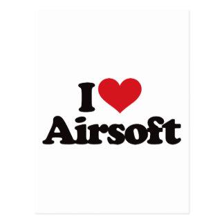Amo Airsoft Tarjetas Postales