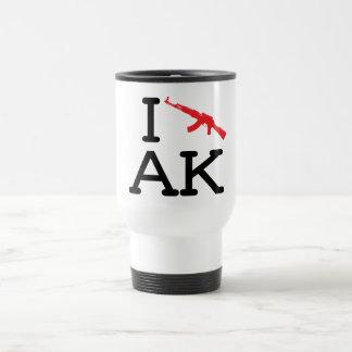 Amo AK - AK47 - taza del viaje