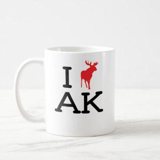 Amo AK - alces - taza