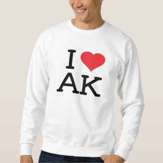 Amo AK - corazón - camiseta Jersey