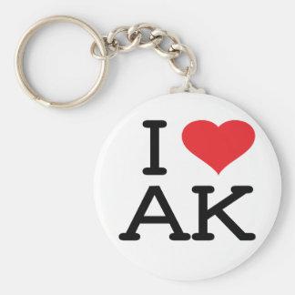 Amo AK - corazón - llavero