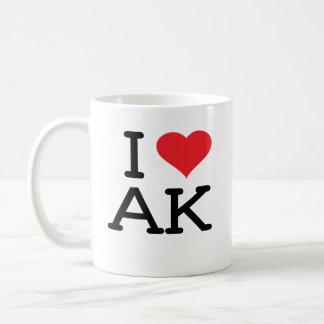 Amo AK - corazón - taza