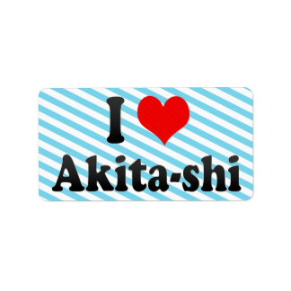 Amo Akita-shi, Japón. Aisuru Akita-Shi, Japón Etiquetas De Dirección