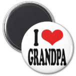 Amo al abuelo iman de nevera