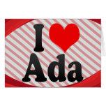 Amo al Ada Felicitacion