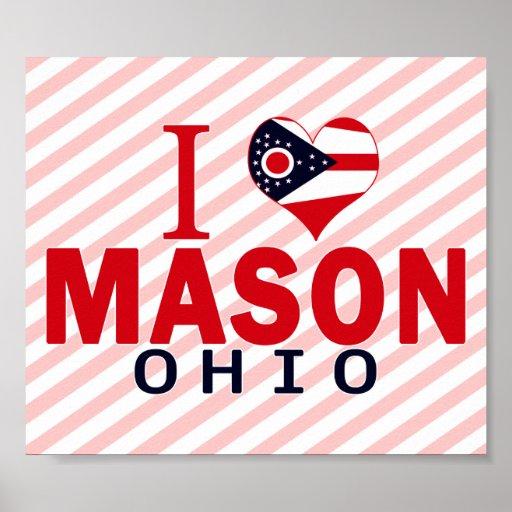 Amo al albañil, Ohio Póster