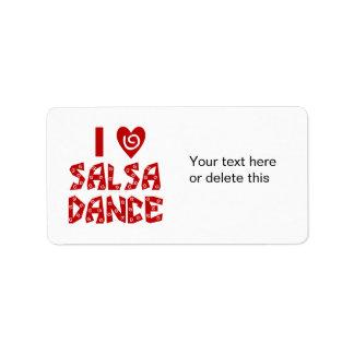 Amo al amante de encargo del baile de la danza de etiqueta de dirección