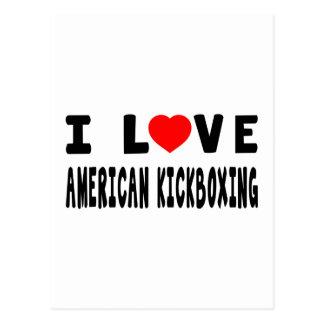 Amo al americano kickboxing artes marciales postal