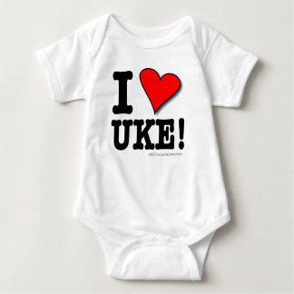 Amo al bebé T de UKE Body Para Bebé