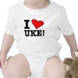 Amo al bebé T de UKE Trajes De Bebé