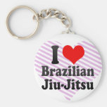 Amo al brasilen@o Jiu-Jitsu Llaveros