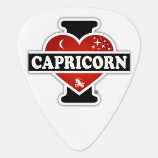 Amo al Capricornio Plumilla De Guitarra