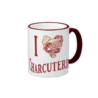 Amo al Charcuterie Tazas De Café