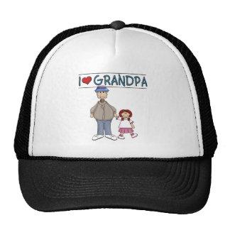 Amo al chica pelirrojo del abuelo gorros