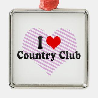 Amo al club de campo Estados Unidos Adornos