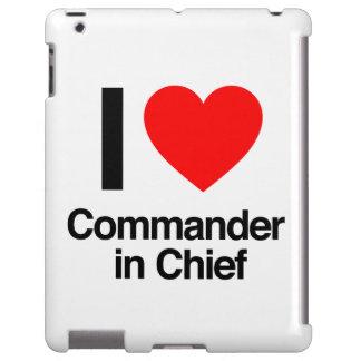 amo al comandante en jefe funda para iPad