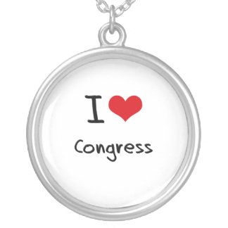 Amo al congreso pendiente personalizado