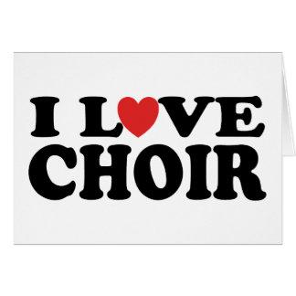 Amo al coro tarjetas