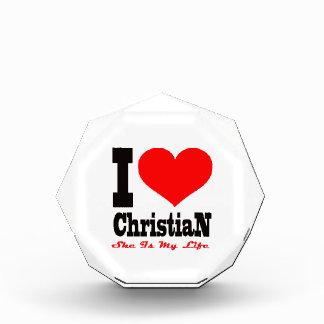 Amo al cristiano. Ella es mi vida