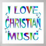 Amo al cristiano impresiones