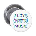 Amo al cristiano pin