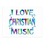 Amo al cristiano postal