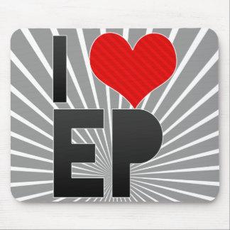 Amo al EP Alfombrilla De Raton