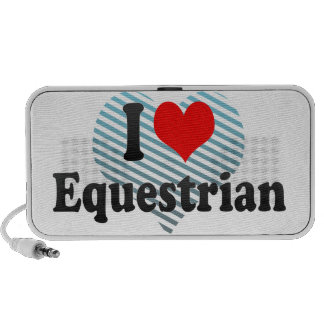Amo al Equestrian PC Altavoces