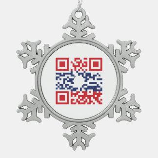 Amo al friki del Lao del código el   de la bandera Adorno