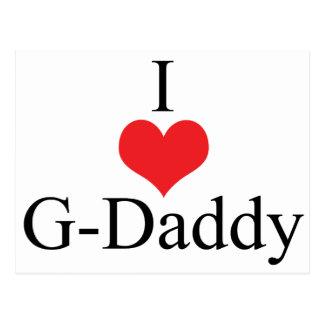 Amo al G-Papá (del corazón) Postales