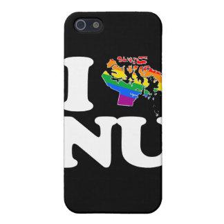 AMO AL GAY NUNAVUT - BLANCO - PNG iPhone 5 CARCASAS