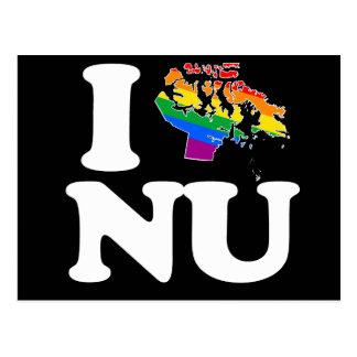 AMO AL GAY NUNAVUT - BLANCO - PNG POSTAL