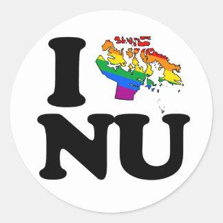 AMO AL GAY NUNAVUT - .PNG ETIQUETAS REDONDAS