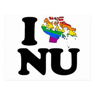 AMO AL GAY NUNAVUT - PNG TARJETA POSTAL