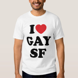 Amo al gay SF Poleras