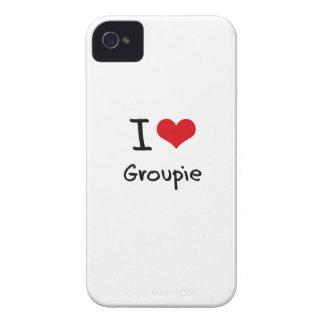 Amo al groupie iPhone 4 Case-Mate coberturas