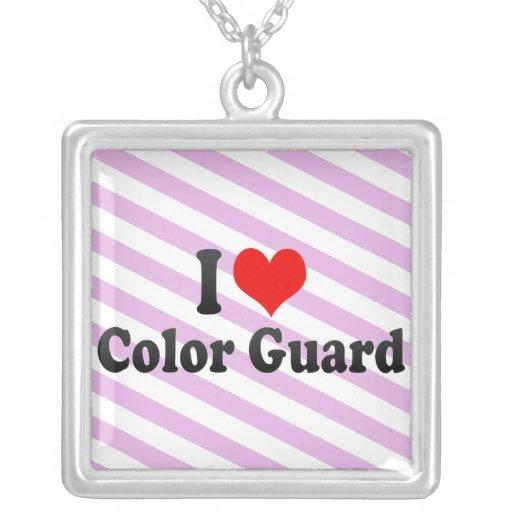 Amo al guardia de honor joyería