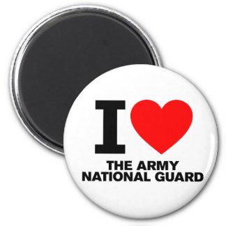 Amo al Guardia Nacional del ejército Imán De Nevera