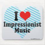 Amo al impresionista+Música Tapete De Ratones