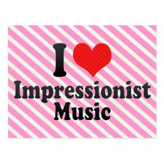 Amo al impresionista+Música Postales