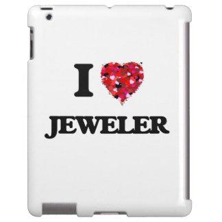 Amo al joyero funda para iPad
