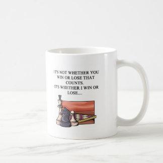 amo al jugador de ajedrez taza de café