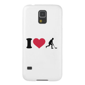 Amo al jugador de Floorball Carcasa Para Galaxy S5