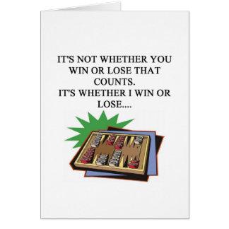 amo al jugador del bakgammon felicitaciones
