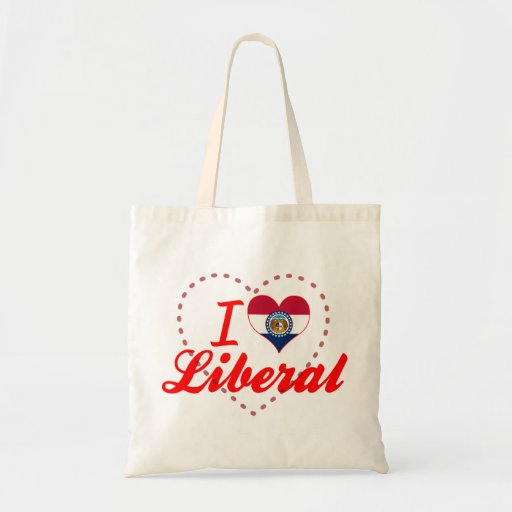 Amo al liberal, Missouri Bolsa Tela Barata