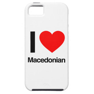 amo al macedonio funda para iPhone 5 tough