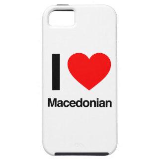 amo al macedonio iPhone 5 fundas