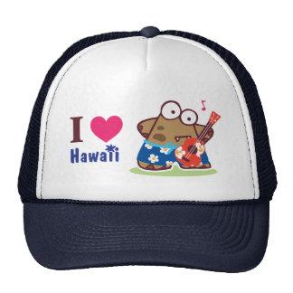 Amo al monstruo de la monstruosidad de Hawaii que  Gorra