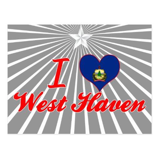 Amo al oeste+Asilo, Vermont Postal