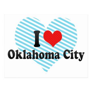 Amo al Oklahoma City Postales